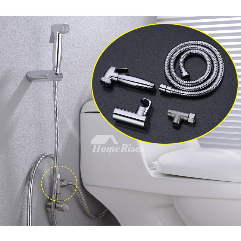 Water Bidet Spray Br Chrome Stainless Steel Toilet Wall Mount