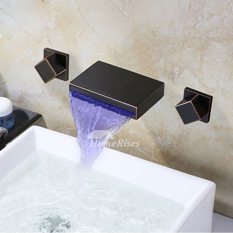 Silver Oil Rubbed Bronze Waterfall