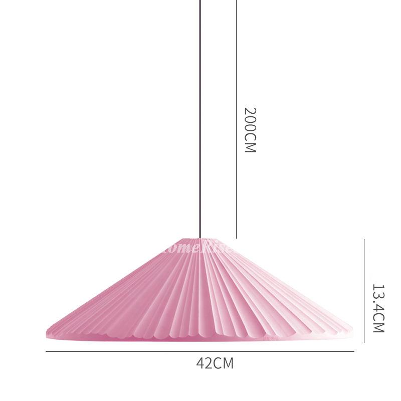 Nordic Modern Pendant Light Fixtures Blue/Pink/White