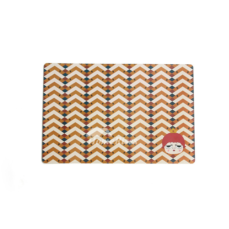 Wipeable Placemats Cute Table Rectangule Dinning Table