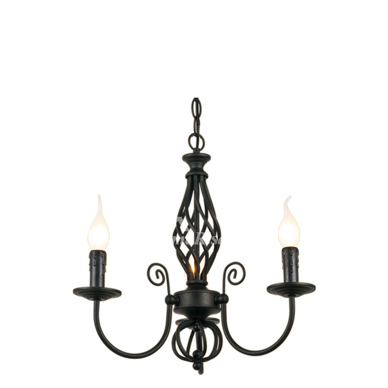 Wrought Iron Chandeliers Dinning Room Modern Cheap For