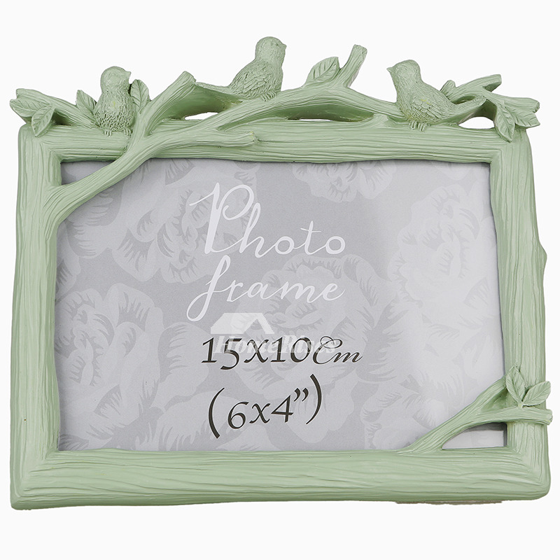 Cheap Modern 4X6 Picture Frames Green/White/Pink Family Friends