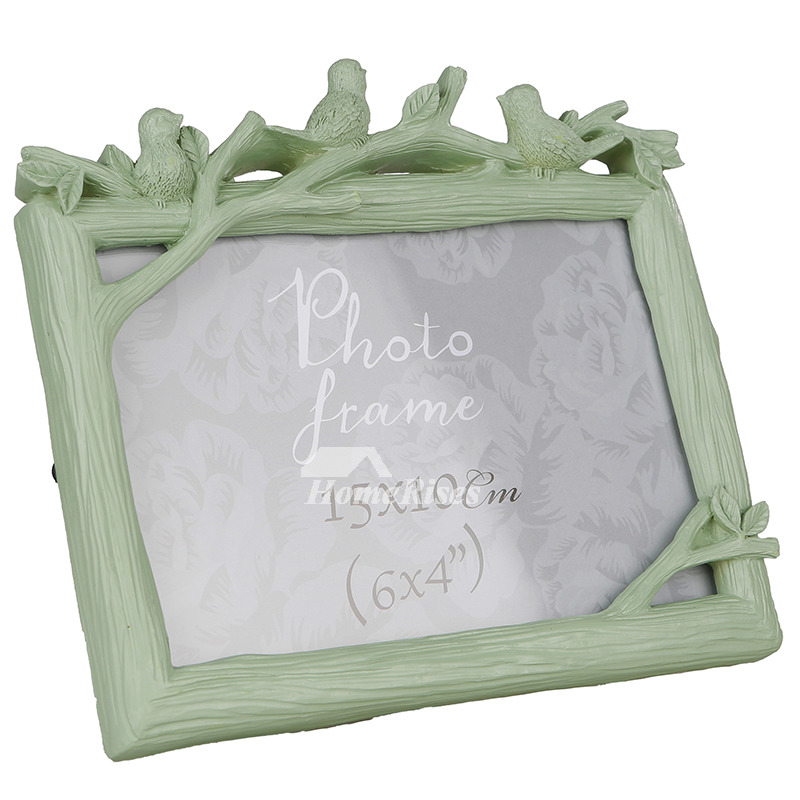 Cheap Modern 4X6 Picture Frames Green/White/Pink Family