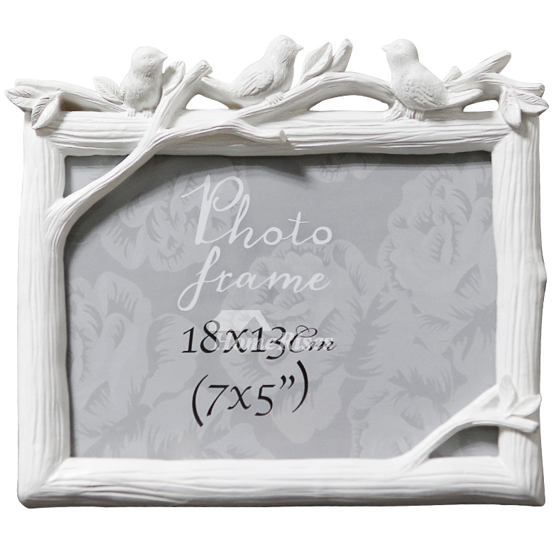 5X7 Picture Frames Resin Cheap Green/White/Pink Online Small Unique