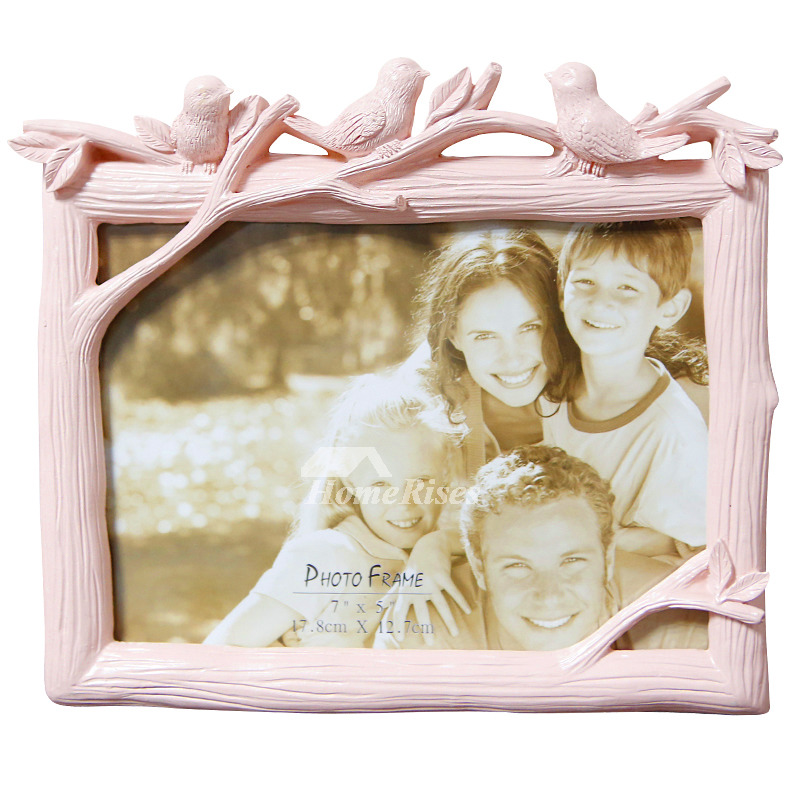 5x7 Picture Frames Resin Cheap Green White Pink Online