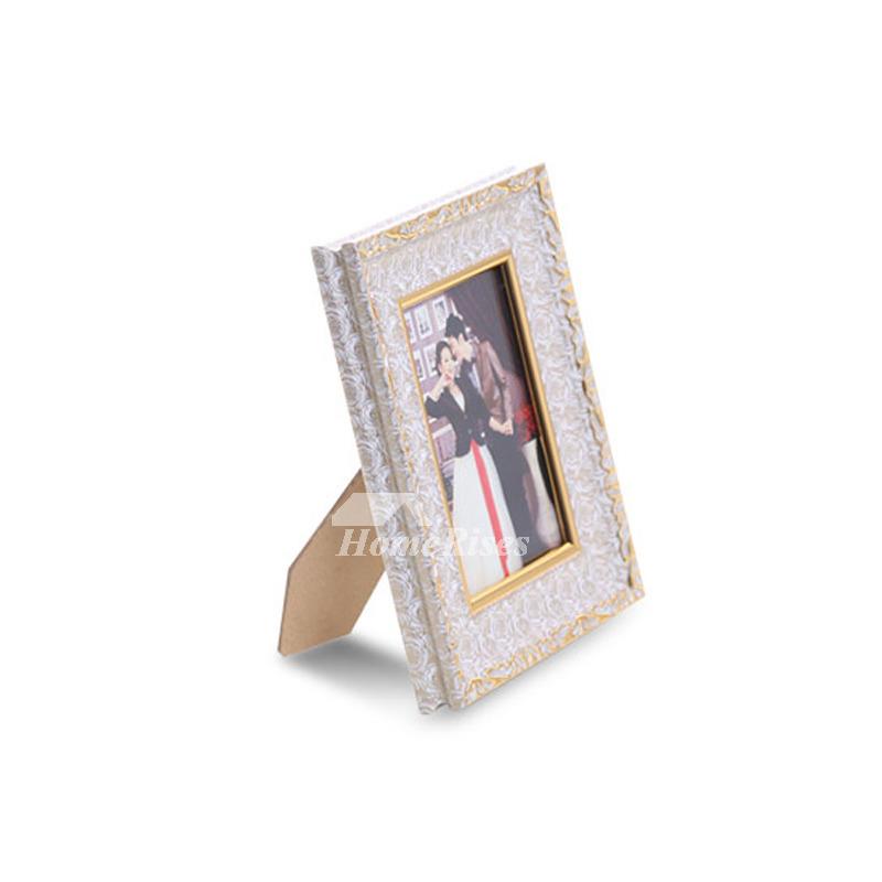 Modern Gold/White 4X6 Plastic Cheap Picture Frames Unique Wholesale