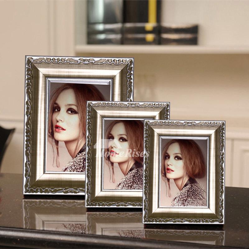 Modern Goldwhite 4x6 Plastic Cheap Picture Frames Unique Wholesale