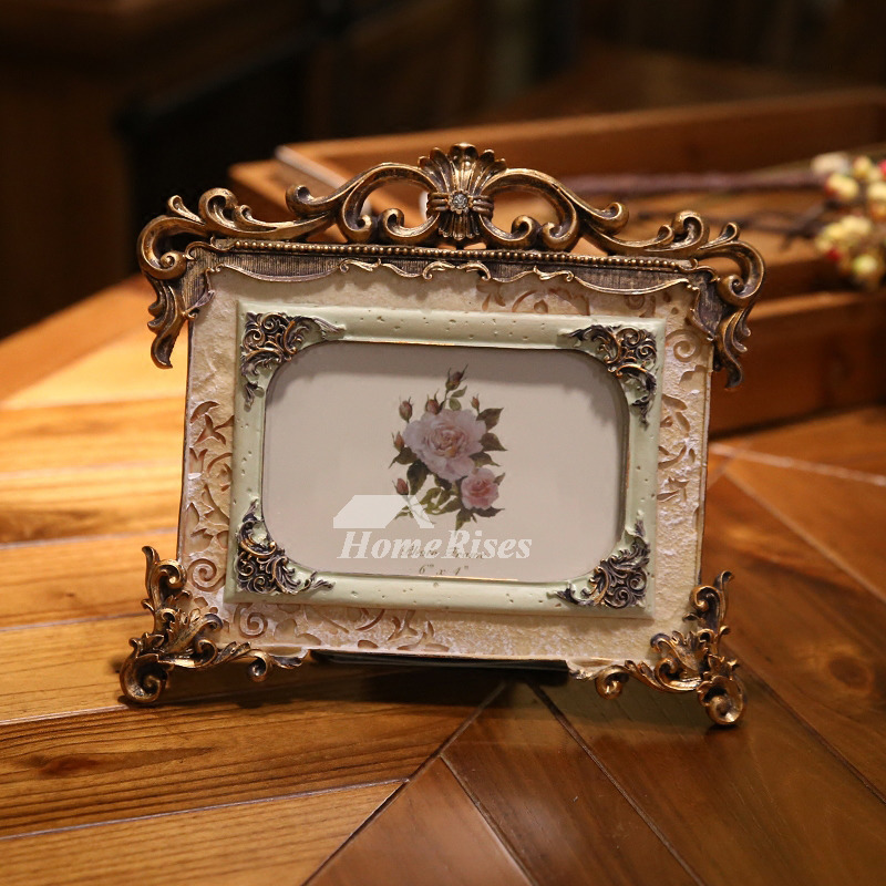 Double Picture Frame 4x6 5x7 Resin Vintage Cheap Old Best