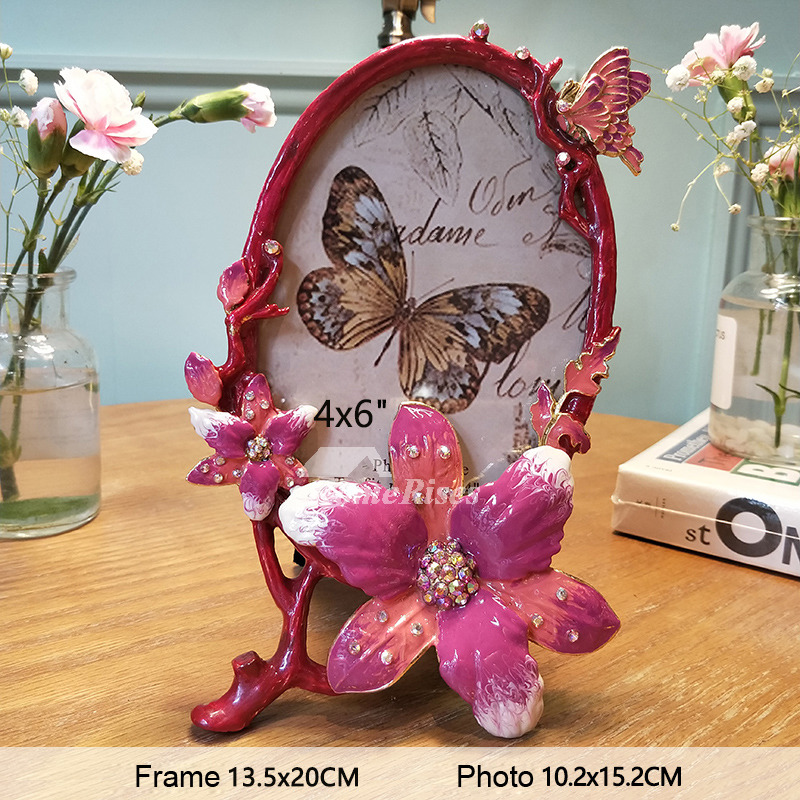 Wholesale Picture Frames Rectangule Oval Metal Glass