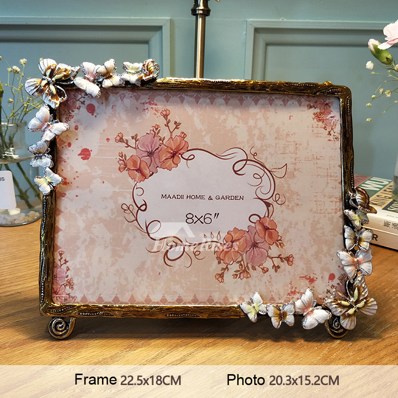 Modern 4x6 8x6 10x8 Metal Glass Decorative Picture Frames