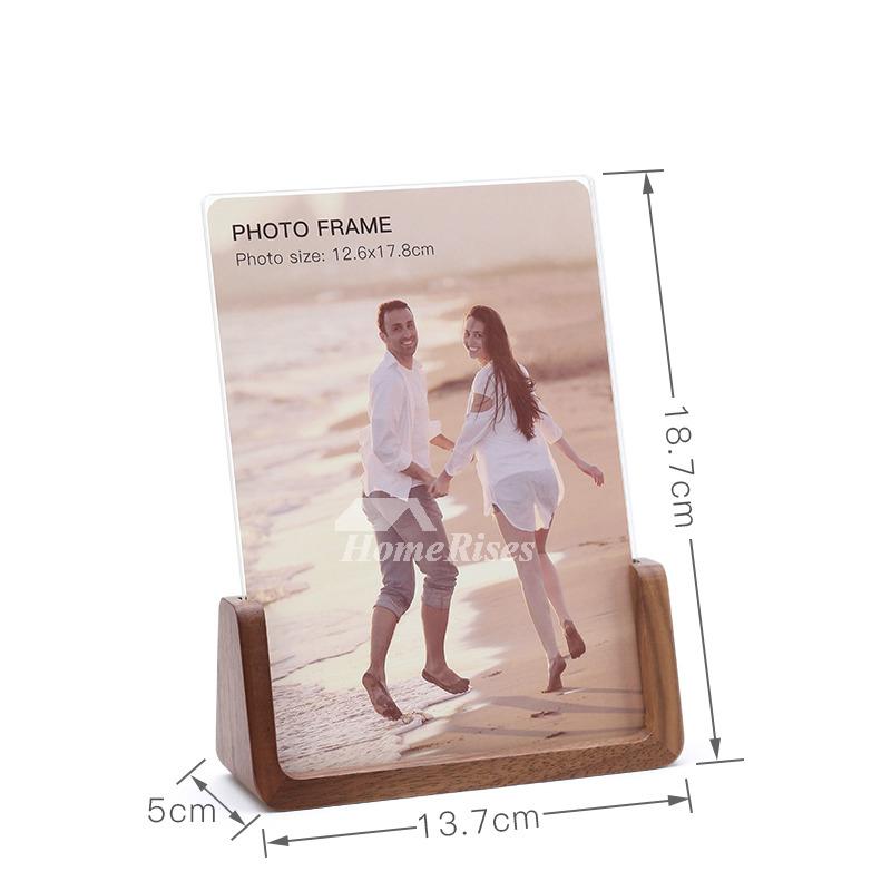 Modern 4X6/5X7/8X10 Wood Acrylic Unique Wholesale Picture Frames