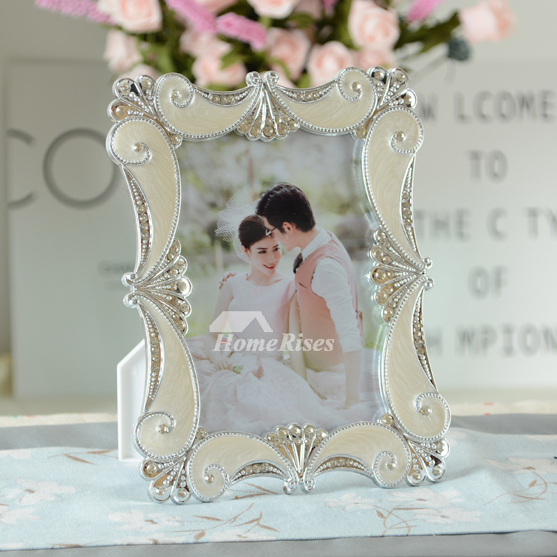 Cheap Picture Frames 4x65x78x68x10 Resin Decorative White