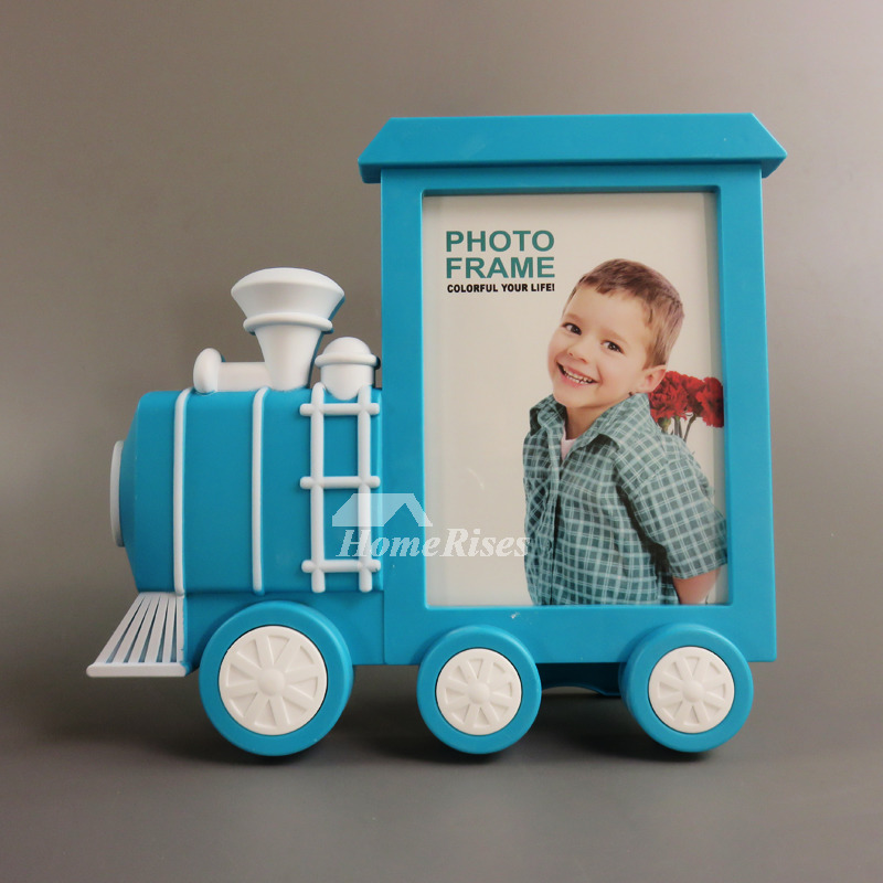 Pink Picture Frames Blueorange 5x7 Kids Plastic Cheap Personalized