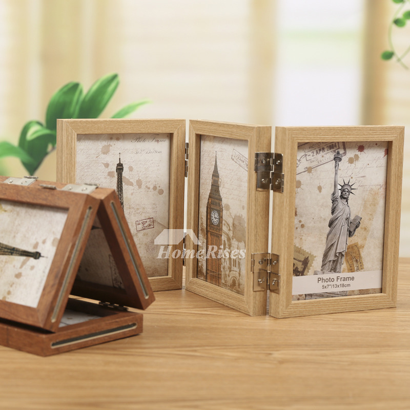 Wooden Picture Frames Double Sided 4x6 5x7 8x10 3 5x5
