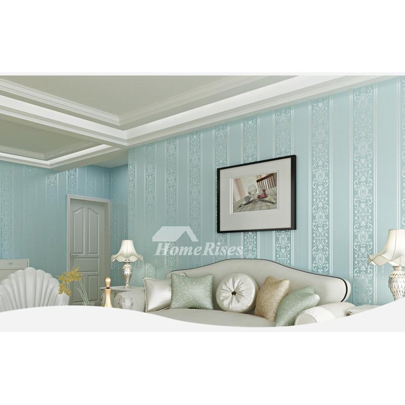 . Cheap Wallpaper Textured White Cream Blue Pink Beige Modern Kitchen