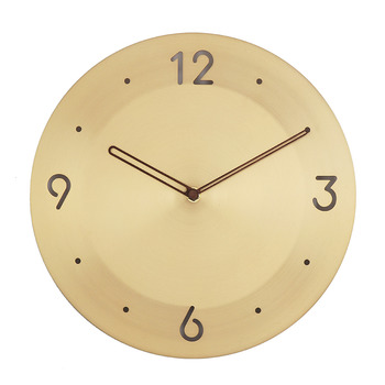 Luxury Brass Wall Clock
