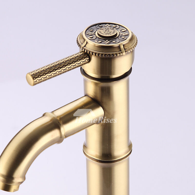 ikon hole faucet polished gold bathroom faucets fau gld luxury