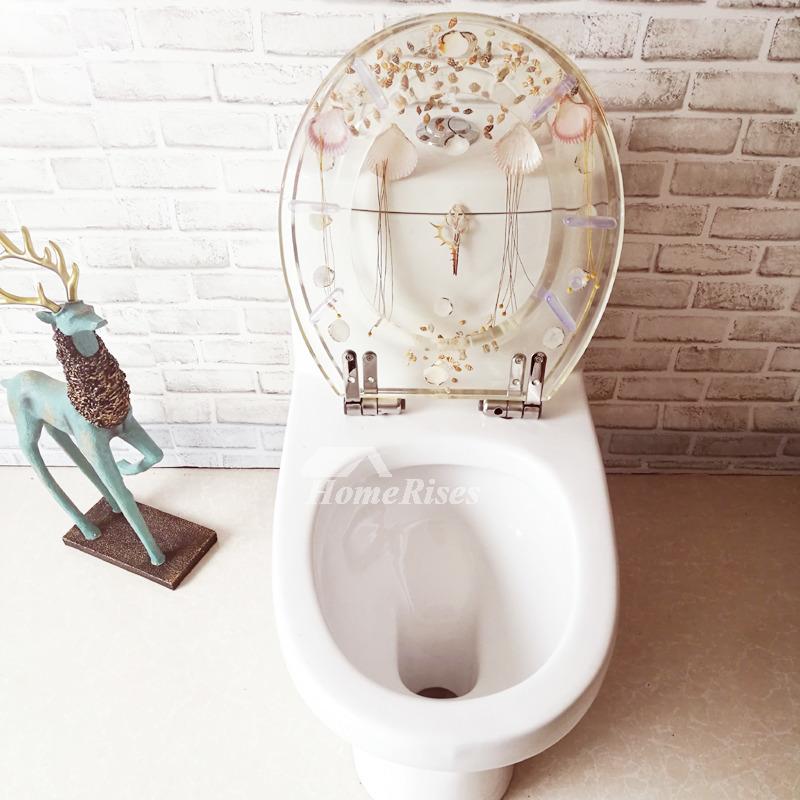 White Elongated Toilet Seat