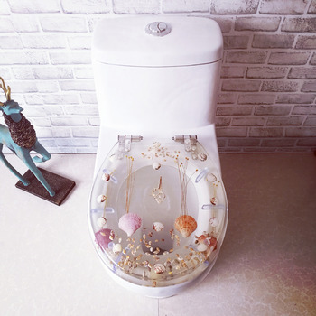 Shell Resin Toilet Seat