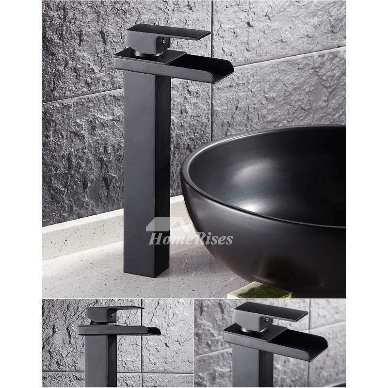 Bathroom Paint Matt: Matte Black Bathroom Faucet Painting Single Handle Modern