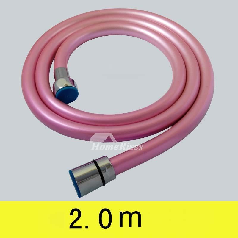 Pink/Yellow/Green Bathroom Faucet Hose Installation Kitchen PVC
