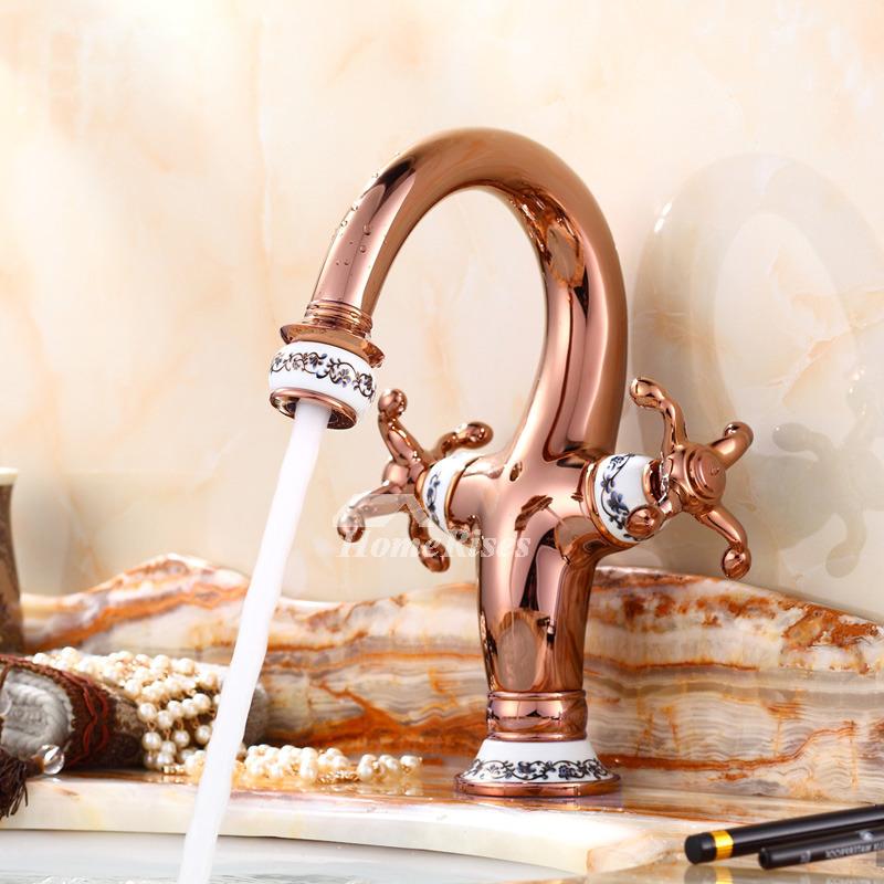 Gold Kitchen Fixtures Brass Faucet