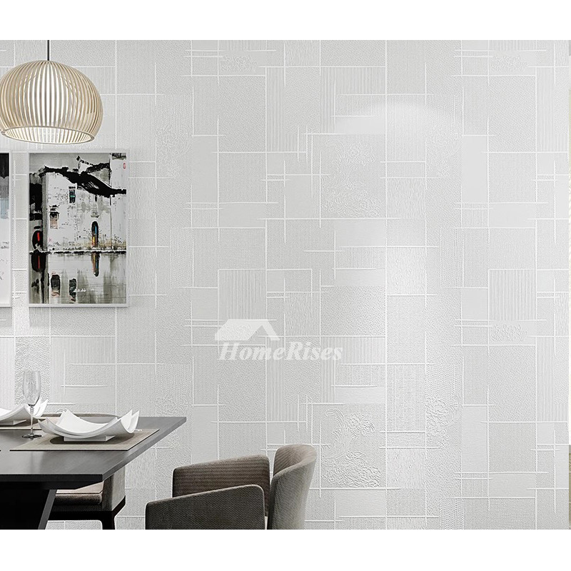 Textured Wallpaper Khaki Yellow White Gray 3d Art Mural Kitchen