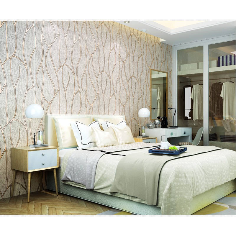 3d Mural Wallpaper White/Brown/Beige Textured Art Decor Kitchen