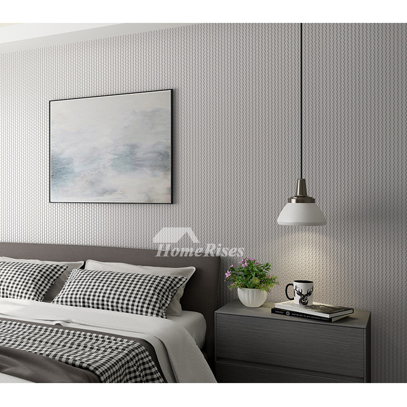 White Grey Yellow Wallpaper Design