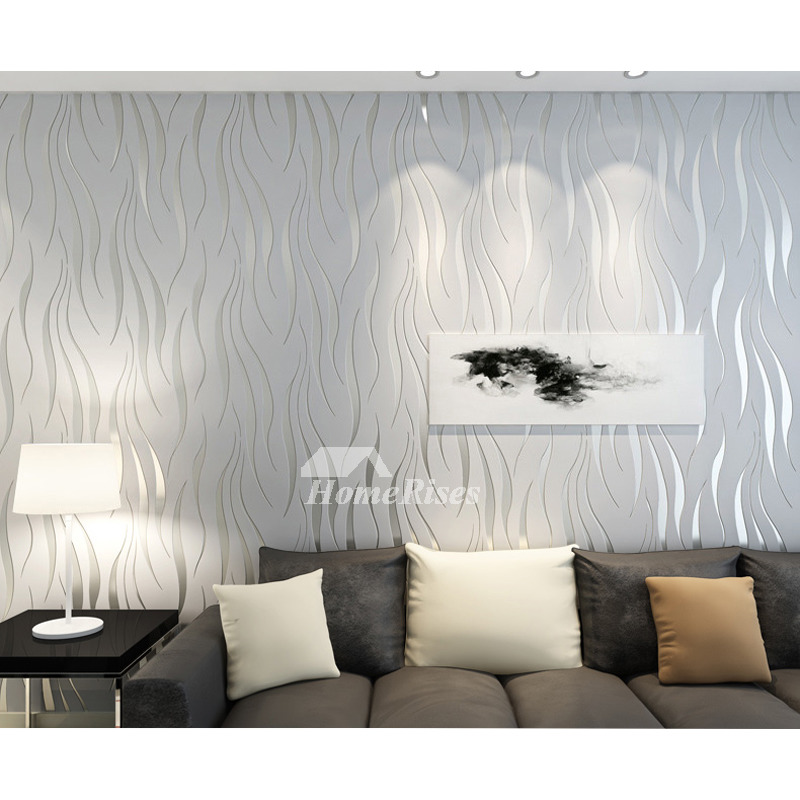 Silver And White Living Room Decor