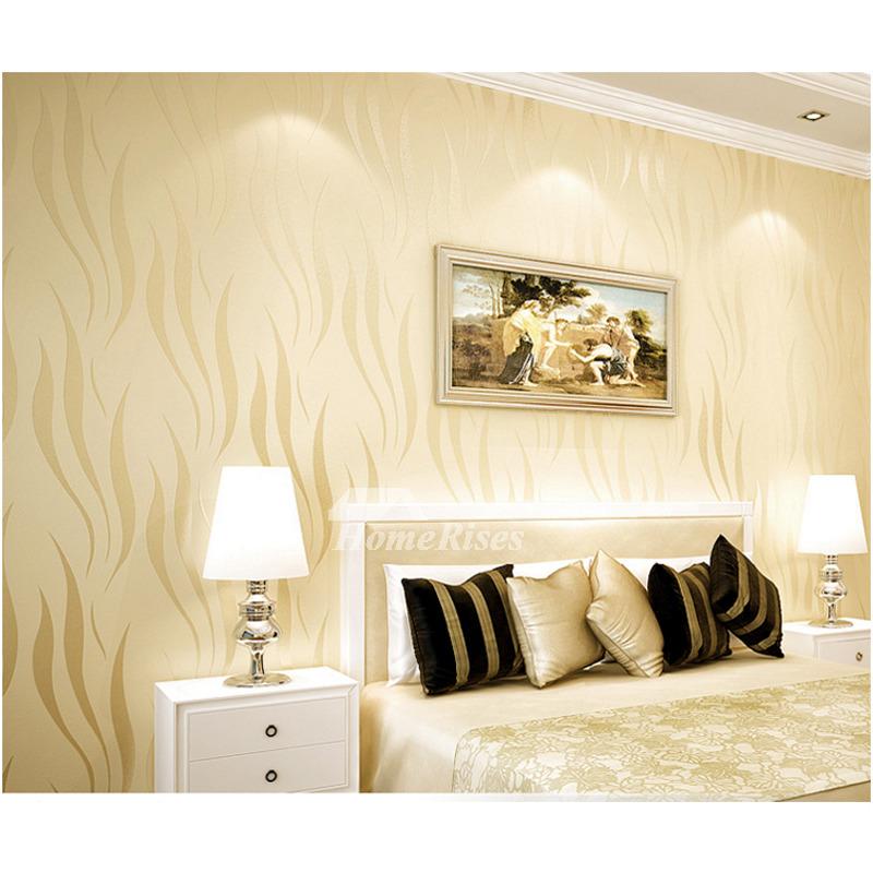 Wallpaper Home Decor Modern: 3D Wallpaper Textured Modern Art Decor Abstract Room