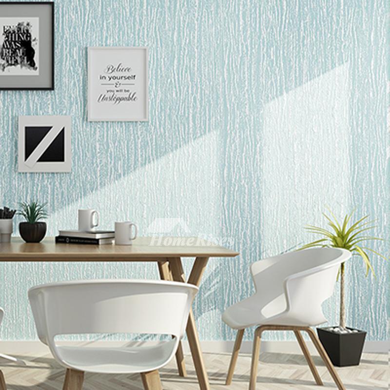 Cheap Art Decor: Blue/Beige/Grey Wallpaper For Walls Modern Roll 3d Art