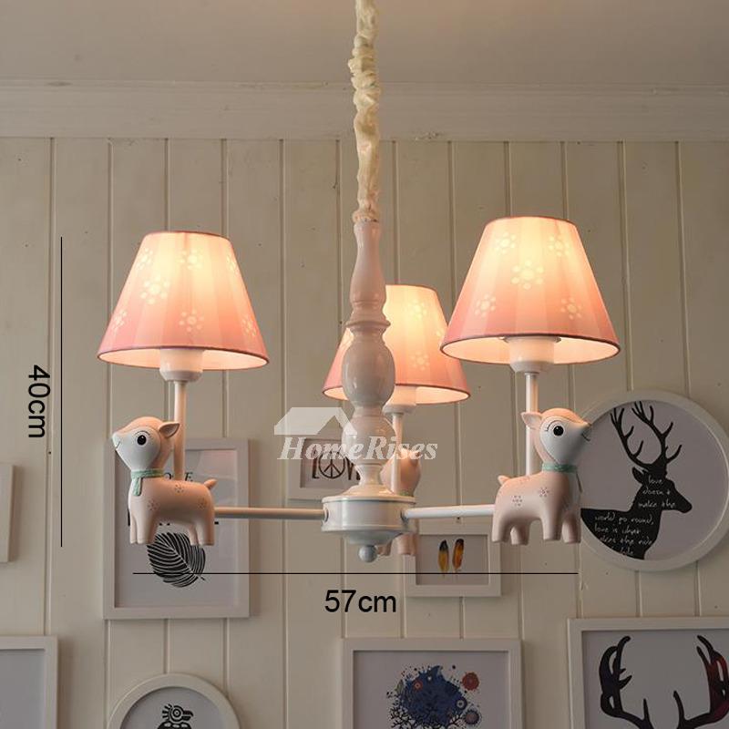 Nursery chandelier 35 light kids hanging bluepink wrought iron aloadofball Images