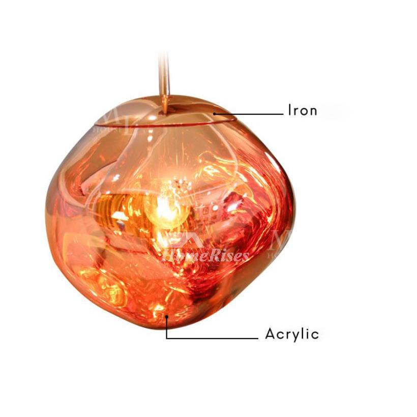glass pendant lights outdoor fixture unique creative