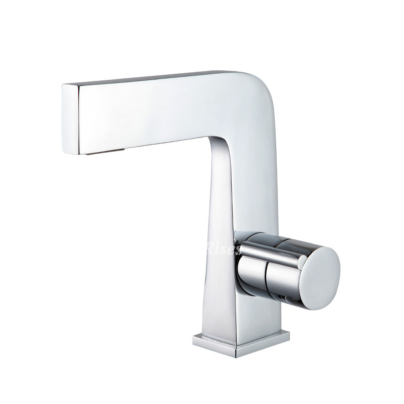 Bathroom Sink Faucets Cheap: Single Hole Bathroom Faucet Chrome Cheap Sink Best Silver