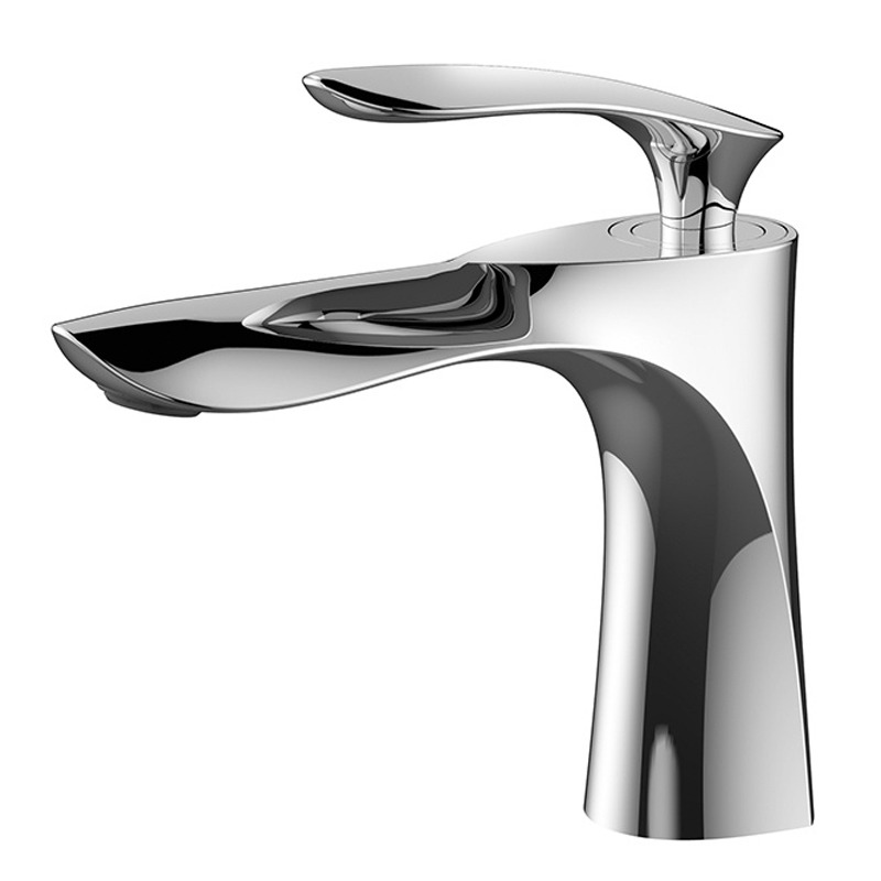 Vessel Sink Faucets Silver/Gold Chrome/Polished Single Hole Modern