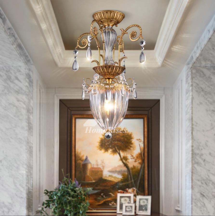 Foyer Chandelier For Sale : Mini crystal chandeliers glass metal lighting foyer