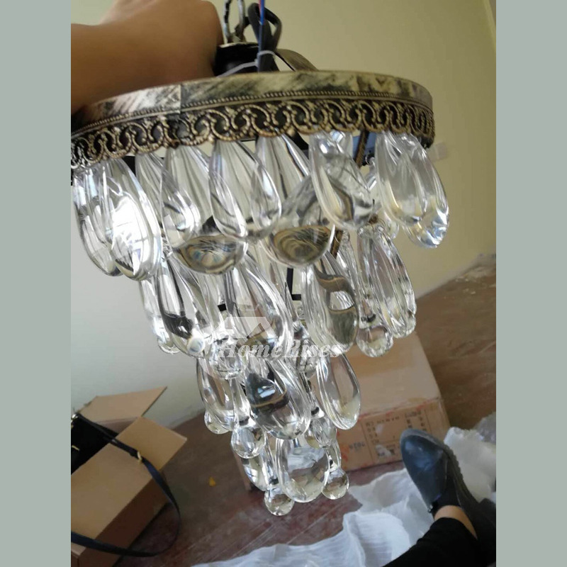 Crystal Wall Sconces Silver Gold Rustic Lighting Bedroom