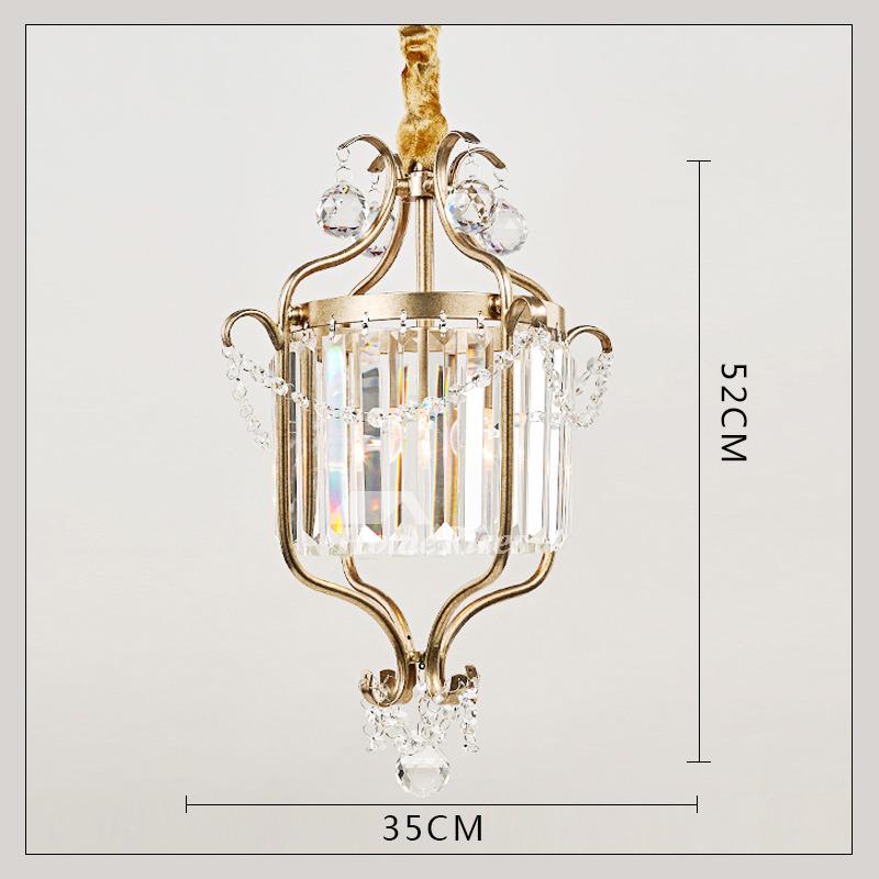 buy popular a7dd1 e06e8 Mini Crystal Chandelier Black/Gold Wrought Iron 1 Light Rustic Best
