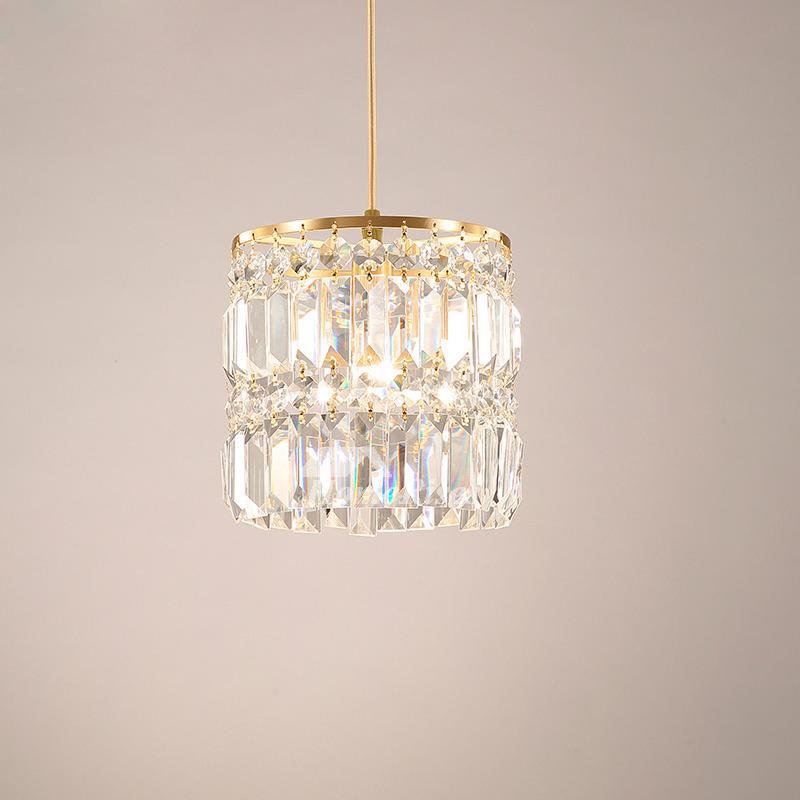 Crystal Pendant Lighting Br 1 3 Light Modern Fixture Hanging