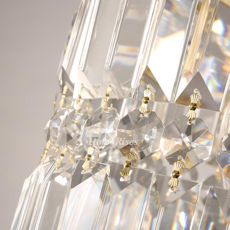 Crystal Pendant Lighting Brass 1 3 Light Modern Fixture