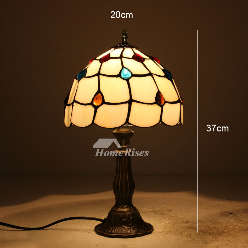 Antique Tiffany Lamps Stained Gl