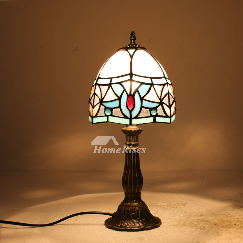 Tiffany Style Lighting Wrought Iron Stained Gl For Bedroom