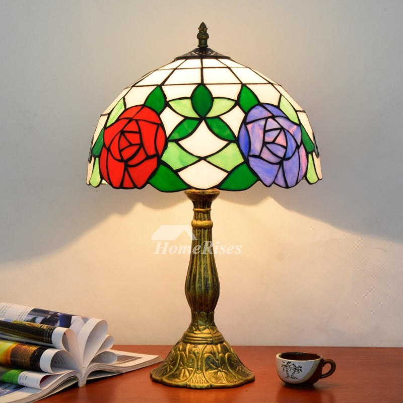 Tiffany Style Lamp Stained Gl Alloy
