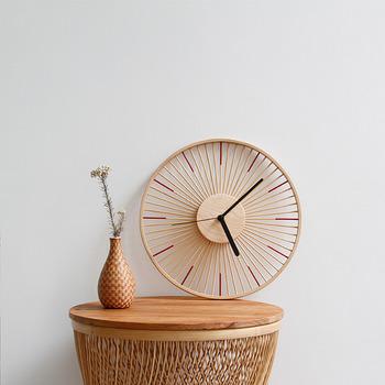 Bamboo Wood Wall Clocks