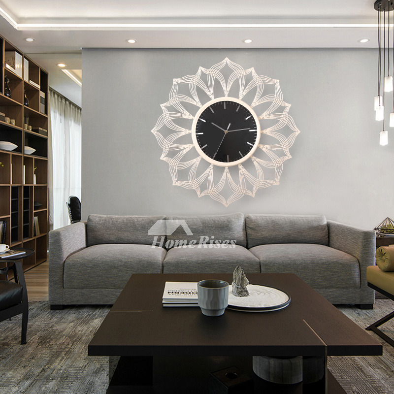 Decorative Room: Oversized 24 Inch Wall Clock Living Room Decorative