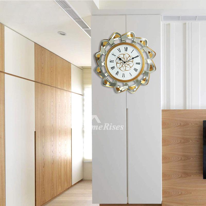 Fancy Wall Clocks Colorful Hanging Creative Unusual Metal