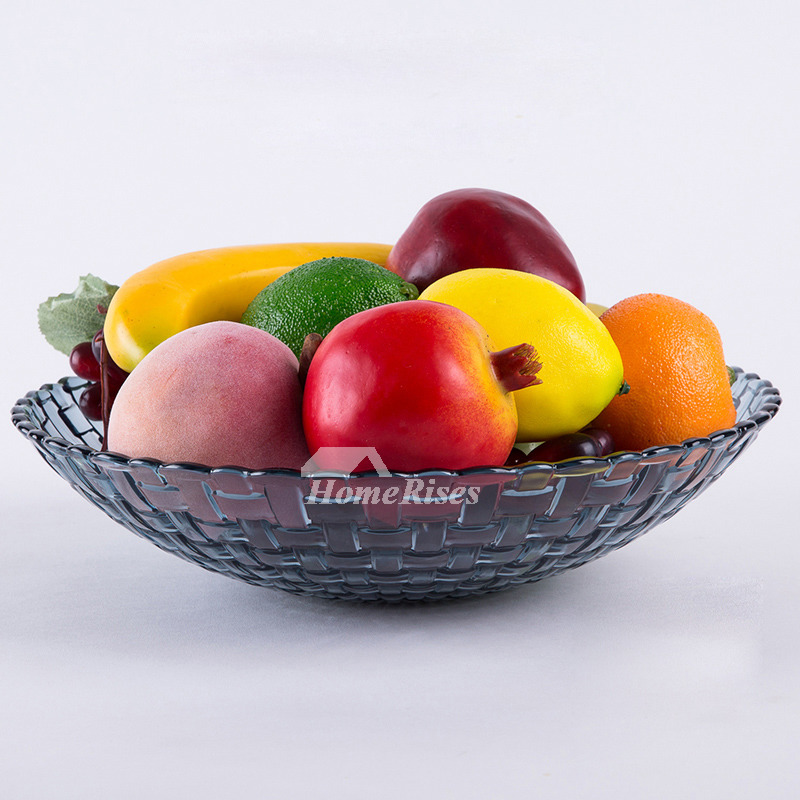 Red Fruit Bowl Blue Plastic Kitchen Breakfast Decorative Best Hois65918 6 Jpg
