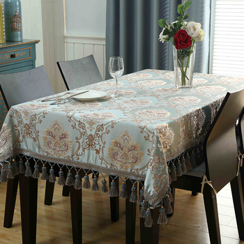 Square Embroidered Tablecloths