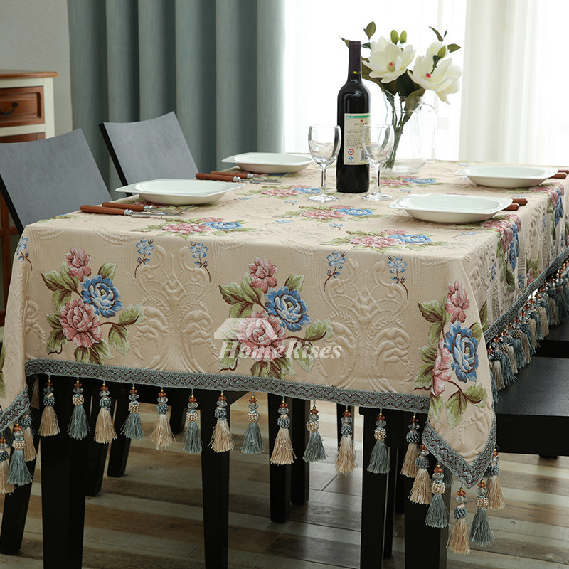 Wholesale Tablecloths Rectangule Square Cloth Polyester